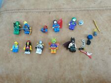 Lego Lote De Mini Figura Batman Joker Killer Moth Superman Ninjago Rockstar