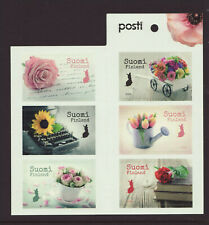 Finland 2019 MNH - Say it with flowers - booklet with 6 stamps