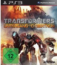 Sony PS3 Playstation 3 Spiel Transformers 4 Untergang von Cybertron Fall of *NEU
