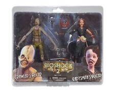 BioShock 2-Ladysmith Splicer & Crawler Splicer - 2 personajes en el set neca nuevo + embalaje original