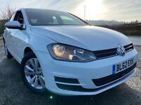 2013 VW GOLF 1.6 TDi BMT SE 5dr 105BHP VW S/History LONG MoT £0 Tax 2 KEYs