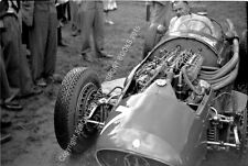 MASERATI 250F mechanic Alf Francis in Moss's car 1954 Oulton Park Gold Cup