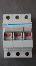 Interrupteur 3P 63A 400V HAGER référence SB 363 code 552363