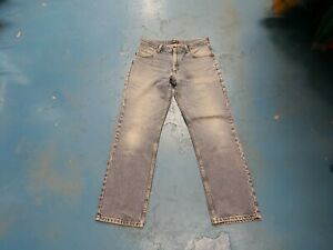 "Lee Brooklyn Waist 32"" Leg 30"" Men's Faded Medium Blue Jeans"