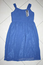 Konfirmation Kleid ,Blumenmädchenkleid ,Mädchen Kleid Marineblau Gr,158 NEU