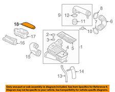 VW VOLKSWAGEN OEM Air Cleaner Intake-Inlet Duct Tube Hose Cover 1K0805965M9B9