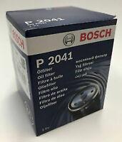 Bosch P2041 Oil Filter - Honda VTEC - B16 B18 K20 K24 + FREE SUMP PLUG WASHER