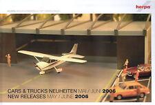 volvo-nuevo Herpa Cars /& Trucks novedades julio//agosto/' 2006-modellbau-binz-scania