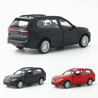 1:44 Scale BMW X7 SUV 2019 Model Car Diecast Toy Vehicle Kids Pull Back Gift