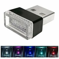 Mini USB LED Car Interior Light Neon Atmosphere Ambient Lamp Decorative Light