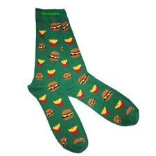 Verde Calcetines con Burgers and chips mantiene frío AFD Original en la cocina