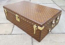 Louis Vuitton Trunk Monogram Rare Antique LV Malle