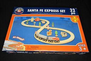 Lionel Heritage Series; Santa Fe Express; BRIO Compatible Wooden Train Set 2006