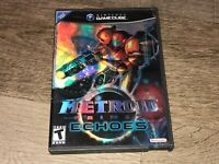 Metroid Prime 2 Echoes Nintendo Gamecube Complete CIB Authentic