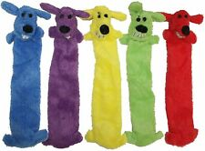 Multipet Loofa Dog Toy Ligthweight Unstuffed ( Free Shipping )