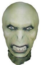 Voldemort Halloween Full Head Mask - Lycra Stretchy Morph Costume - Harry Potter
