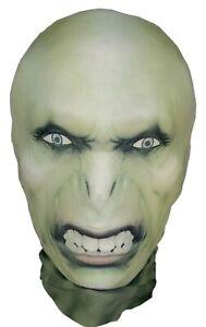 Voldemort Halloween Full Head Mask Stretchy Morph Harry Potter Parody Costume