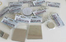 Craft Small Mirror Mosaic Tiles Various Sizes and Quantities Squares and Round