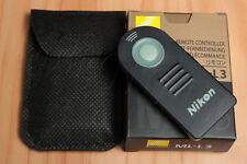 ML-L3 Infrared Remote Shutter Release for Nikon D5500 D7200 D3400 D610 D750 MLL3