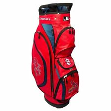 New for 2017 Team Golf MLB St Louis Cardinals Clubhouse Golf Cart Bag