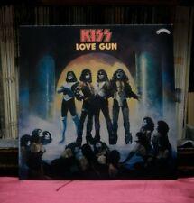 "Used 12"" LP M- Kiss Love Gun Casablanca/Pye Import Colored CALH 2017"