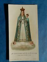 IMAGE PIEUSE HOLY CARD  NOTRE DAME DE FOURVIERE TALABOT THFR