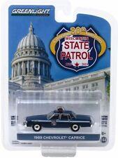 1989 Chevrolet Caprice POLICE Wisconsin State Patrol * Greenlight Hobby 1:64 NEU