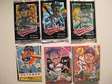 1995 CARDTOONS TRADING CARD SET (BASEBALL CARD PARODY SET) (115 DIFF. CARDS)