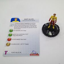 Heroclix DC75th Anniversary set Bart Allen #009 Common figure w/card!