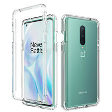 For OnePlus 8 Phone Case Slim Shockproof Crystal Clear Rubber TPU Back Cover