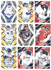 2017 TOPPS FIRE   #1-200  ( ROOKIE RC's, STARS, HOF) - WHO DO YOU NEED!!!