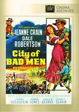 City of Bad Men 1953 (DVD) Jeanne Crain, Dale Robertson, Richard Boone - New!
