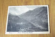 CARTOLINA NOVARA BANNIO ANZINO PONTEGRANDE OSSOLA VIAGGIATA 1938 SUBALPINA KK