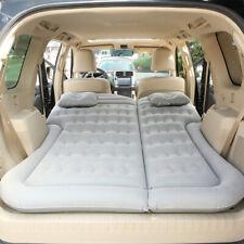 Car Inflatable Bed Air Mattress Travel Sleeping Pad Outdoor Camping Mat Q5K2