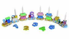 Goki GK 106 Geburtstagszug Lok mit Anhänger von 1 bis 6 Jahren bunt