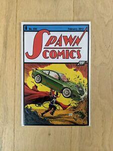 Spawn #228 NM Action Comics #1 Superman Homage Todd McFarlane Variant Image 2013