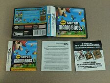 NEW SUPER MARIO BROS. BROTHERS 1 NINTENDO DS DSI NRMT- COMPLETE IN BOX!