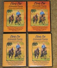 Chris Cox 23 DVD Set Horse training riding