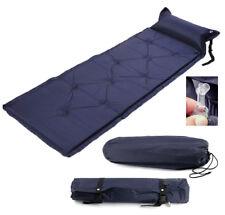 Single Self Inflate Camp Roll Mat Inflatable Sleeping Mattress Summer Outdoors