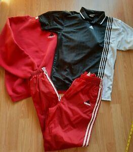 Adidas Hooded Sweatshirt Lot Of 3 Mens Size Medium EUC