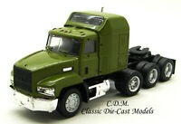Mack 613 w/Sleeper Tri Axle Tractor Green HO 1/87 Scale Herpa/Promotex 450020