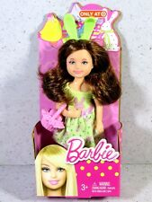 NIB BARBIE DOLL KELLY 2012 ONLY AT TARGET EASTER BUNNY BRUNETTE