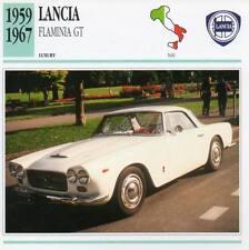 1959-1967 LANCIA FLAMINIA GT Classic Car Photograph / Information Maxi Card
