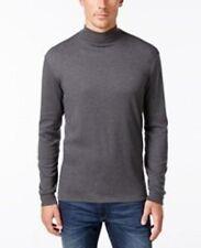 John Ashford Mens Shirts Sz XXL Cindersmoke Heather Grey Long Sleeve Casual
