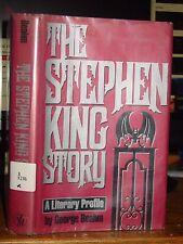 The Stephen King Story, Chronological Biography of Writer's Life & Work, HC-DJ
