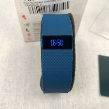 Fitbit Charge HR Activity Tracker Smart Band Blue Wireless Heart Rate Small