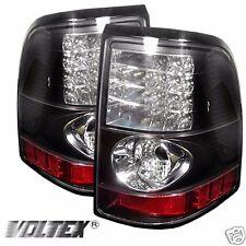 2002-2005 FORD EXPLORER 4DR LED TAIL LIGHT BAR LIGHTBAR LAMP BLACK