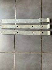 3 Galvanised Heavy Duty Gate Barn Door Hinges