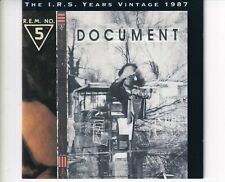 CD R.E.M.the I.R.S. years vintage 1987HOLLAND EX+ (B5975)