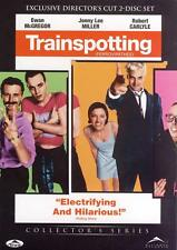 TRAINSPOTTING- EXCLUSIVE DIRECTOR'S CUT (DVD, 2-DISC) R-1, NEW, FREE SHIPPING